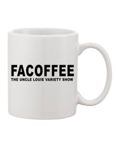 Facoffee 11-oz. Ceramic Mug